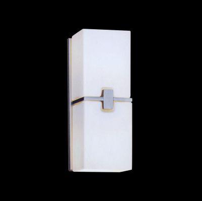 Lightstar SIMPLE LIGHT 805620 Светильник настенный браХай-тек<br><br><br>S освещ. до, м2: 6<br>Крепление: настенное<br>Тип лампы: накаливания / энергосбережения / LED-светодиодная<br>Тип цоколя: E14<br>Количество ламп: 2<br>Ширина, мм: 100<br>MAX мощность ламп, Вт: 40<br>Размеры: W 100 H 270<br>Высота, мм: 270<br>Оттенок (цвет): белый<br>Цвет арматуры: серый
