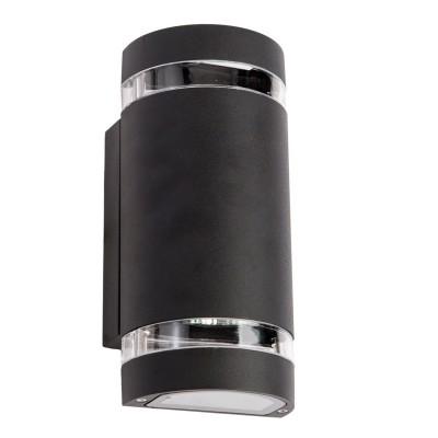 Светильник влагозащищенный Mw light 807021202 МеркурийХай-тек<br>Описание модели 807021202: Уличный светильник из коллекции «Меркурий» выглядит просто и стильно. Металлическое основание и часть плафона окрашены в чёрный цвет, и дополнены прозрачными вставками из акрила. Простые геометрические формы, сдержанный классический цвет делают светильник образцом элегантного вкуса. Он прекрасно дополнит обстановку экстерьера загородного дома. Модель имеет высокий уровень  IP защиты от влаги и пыли. Рекомендуемая площадь освещения порядка 5 кв.м.<br><br>S освещ. до, м2: 5<br>Рекомендуемые колбы ламп: полусферическая с рефлектором<br>Тип лампы: галогенная / LED-светодиодная<br>Тип цоколя: GU10<br>Цвет арматуры: черный<br>Количество ламп: 2<br>Ширина, мм: 110<br>Длина, мм: 230<br>Расстояние от стены, мм: 110<br>Высота, мм: 110<br>Поверхность арматуры: матовый<br>MAX мощность ламп, Вт: 35<br>Общая мощность, Вт: 70