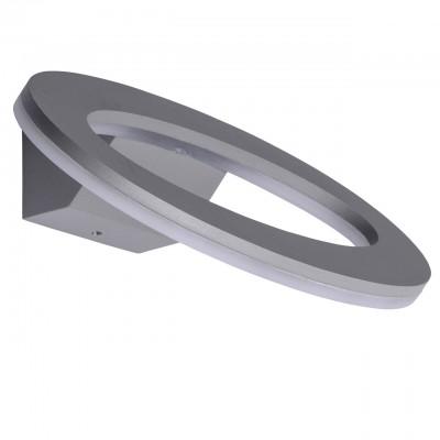 Светильник влагозащищенный Mw light 807021401 МеркурийНастенные<br>Описание модели 807021401: Стильный и современный модерновый светильник из коллекции «Меркурий» подчеркнет строгий, но при этом изысканный вкус. Металлическое основание цвета алюминия гармонично сочетается с источником света -  светодиодной лентой,  защищенной акрилом. Светильник имеет высокий уровень  IP защиты и поэтому прекрасно подойдет для использования на улице. Например, для освещения ландшафта загородного дома или дачи.  Он создаст уютный и достаточно яркий свет. Площадь освещения порядка 3 кв.м.<br><br>S освещ. до, м2: 3<br>Цветовая t, К: 4000<br>Тип лампы: LED<br>Тип цоколя: LED<br>Ширина, мм: 250<br>MAX мощность ламп, Вт: 7<br>Длина, мм: 100<br>Высота, мм: 140<br>Цвет арматуры: серый<br>Общая мощность, Вт: 7