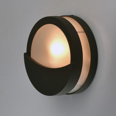 Mw light 807022101 СветильникНастенные<br><br><br>Тип лампы: Накаливания / энергосбережения / светодиодная<br>Тип цоколя: E27<br>Количество ламп: 1<br>MAX мощность ламп, Вт: 60<br>Диаметр, мм мм: 180<br>Расстояние от стены, мм: 70