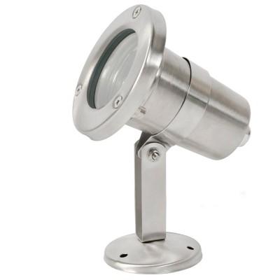 Светильник влагозащищенный Mw light 807040301 МеркурийНастенные<br>Описание модели 807040301: Уличный светильник из коллекции «Меркурий» - образец качества, технологичности и современного дизайна. Основание и плафон из качественной стали гармонично дополнены вставкой из прочного стекла. Высокая степень IP защиты от влаги и пыли делает этот светильник не только красивым, но и надежным украшением экстерьера загородного дома. Он идеально подойдет для зональной подсветки газонов, дорожек, крыльца и ступеней. Рекомендуемая площадь освещения 2 кв.м.<br><br>S освещ. до, м2: 2<br>Рекомендуемые колбы ламп: полусферическая с рефлектором<br>Тип лампы: LED - светодиодная<br>Тип цоколя: MR16<br>Цвет арматуры: серебристый<br>Количество ламп: 1<br>Ширина, мм: 110<br>Длина, мм: 80<br>Высота, мм: 120<br>Поверхность арматуры: матовый<br>MAX мощность ламп, Вт: 21