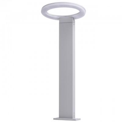Светильник влагозащищенный Mw light 807041501 МеркурийОдиночные столбы<br>Описание модели 807041501: Стильный и современный модерновый светильник из коллекции «Меркурий» подчеркнет строгий, но при этом изысканный вкус. Металлическое основание цвета алюминия гармонично сочетается с источником света -  светодиодной лентой,  защищенной акрилом. Светильник имеет высокий уровень  IP защиты и поэтому прекрасно подойдет для использования на улице. Например, для освещения ландшафта загородного дома или дачи.  Он создаст уютный и достаточно яркий свет. Площадь освещения порядка 3 кв.м.<br><br>S освещ. до, м2: 3<br>Цветовая t, К: 4000<br>Тип лампы: LED<br>Тип цоколя: LED<br>Количество ламп: 1<br>Ширина, мм: 150<br>MAX мощность ламп, Вт: 7<br>Длина, мм: 250<br>Высота, мм: 600<br>Цвет арматуры: серый<br>Общая мощность, Вт: 7