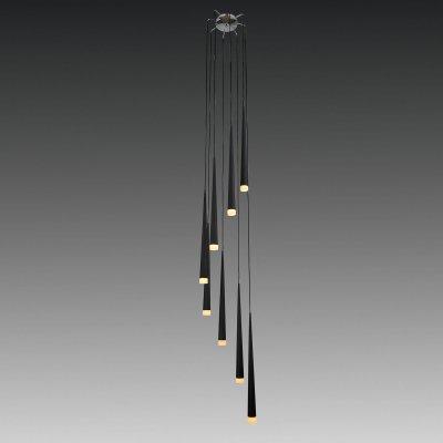 Lightstar Uggo 807087 Люстра подвеснаяПодвесные<br>Компания «Светодом» предлагает широкий ассортимент люстр от известных производителей. Представленные в нашем каталоге товары выполнены из современных материалов и обладают отличным качеством. Благодаря широкому ассортименту Вы сможете найти у нас люстру под любой интерьер. Мы предлагаем как классические варианты, так и современные модели, отличающиеся лаконичностью и простотой форм.   Стильная люстра Lightstar 807087 станет украшением любого дома. Эта модель от известного производителя не оставит равнодушным ценителей красивых и оригинальных предметов интерьера. Люстра Lightstar 807087 обеспечит равномерное распределение света по всей комнате. При выборе обратите внимание на характеристики, позволяющие приобрести наиболее подходящую модель.   Купить понравившуюся люстру по доступной цене Вы можете в интернет-магазине «Светодом».<br><br>Установка на натяжной потолок: Да<br>S освещ. до, м2: 21<br>Крепление: Планка<br>Тип лампы: галогенная / LED-светодиодная<br>Тип цоколя: G9<br>Количество ламп: 8<br>MAX мощность ламп, Вт: 40<br>Диаметр, мм мм: 350<br>Размеры: H 2800 W 350 L 280<br>Высота, мм: 2800<br>Оттенок (цвет): черный