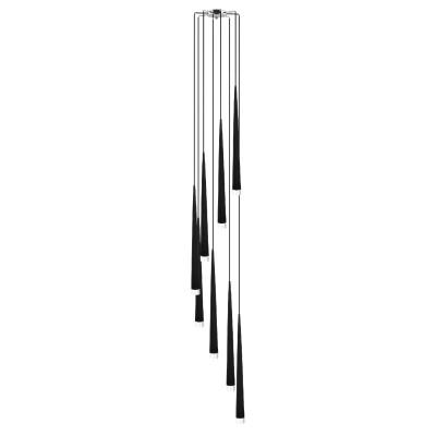 Lightstar Uggo 807087 Люстра подвеснаяПодвесные<br>Компания «Светодом» предлагает широкий ассортимент люстр от известных производителей. Представленные в нашем каталоге товары выполнены из современных материалов и обладают отличным качеством. Благодаря широкому ассортименту Вы сможете найти у нас люстру под любой интерьер. Мы предлагаем как классические варианты, так и современные модели, отличающиеся лаконичностью и простотой форм. <br>Стильная люстра Lightstar 807087 станет украшением любого дома. Эта модель от известного производителя не оставит равнодушным ценителей красивых и оригинальных предметов интерьера. Люстра Lightstar 807087 обеспечит равномерное распределение света по всей комнате. При выборе обратите внимание на характеристики, позволяющие приобрести наиболее подходящую модель. <br>Купить понравившуюся люстру по доступной цене Вы можете в интернет-магазине «Светодом».<br><br>Установка на натяжной потолок: Да<br>S освещ. до, м2: 21<br>Крепление: Планка<br>Тип лампы: галогенная / LED-светодиодная<br>Тип цоколя: G9<br>Количество ламп: 8<br>Диаметр, мм мм: 350<br>Размеры: H 2800 W 350 L 280<br>Высота, мм: 2800<br>Оттенок (цвет): черный<br>MAX мощность ламп, Вт: 40