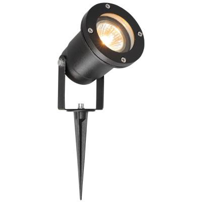 Светильник влагозащищенный Mw light 808040201 ТитанГрунтовые<br>Описание модели 808040201: Уличный светильник из коллекции «Титан» выполнен в соответствии с модными современными тенденциями. Простые формы, лаконичный дизайн и классическая цветовая гамма. Чёрное алюминиевое основание гармонично сочетается со стеклянным плафоном. Кроме того, светильник оснащен удобной ножкой, с помощью которой он устанавливается прямо в грунт. Для тех, кто идет в ногу с  модными трендами, он станет хорошим украшением экстерьера. Рекомендуемая площадь освещения - 2 кв.м.<br><br>S освещ. до, м2: 1<br>Тип лампы: LED - светодиодная<br>Тип цоколя: GU10<br>Количество ламп: 21LED<br>Ширина, мм: 100<br>MAX мощность ламп, Вт: 1<br>Длина, мм: 100<br>Высота, мм: 280<br>Цвет арматуры: черный