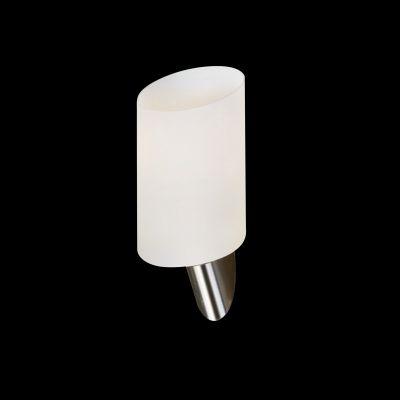 Lightstar SL 808610 Светильник настенный браХай-тек<br><br><br>S освещ. до, м2: 2<br>Крепление: настенное<br>Тип лампы: накаливания / энергосбережения / LED-светодиодная<br>Тип цоколя: E14<br>Количество ламп: 1<br>Ширина, мм: 110<br>MAX мощность ламп, Вт: 40<br>Размеры: H min-max280 W110 отступ<br>Высота, мм: 200<br>Оттенок (цвет): белый<br>Цвет арматуры: серый