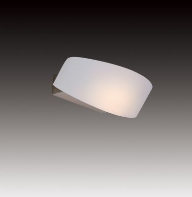 Lightstar Simple Light C 808630 Светильник настенный браХай-тек<br><br><br>S освещ. до, м2: 2<br>Тип цоколя: R7s<br>Количество ламп: 1<br>Ширина, мм: 250<br>MAX мощность ламп, Вт: 150<br>Размеры: W 250x160<br>Длина, мм: 160<br>Оттенок (цвет): белый<br>Цвет арматуры: серебристый