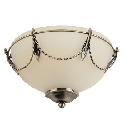 Светильник бра Colosseo 80902/1W RomoloКлассические<br>Настенный светильник Colosseo 80902/1W Romolo бронза – это великолепный образец классического интерьерного стиля! Круглая белая форма украшена изящным «витым» орнаментом «бронзового» оттенка, и идеально впишется в комнату, украсив ее и внеся элегантность. Рекомендуем Вам использовать светильник в комплекте из нескольких экземпляров и люстрой той же серии, чтобы интерьер выглядел более гармоничным и законченным.<br><br>S освещ. до, м2: 4<br>Тип лампы: накаливания / энергосбережения / LED-светодиодная<br>Тип цоколя: E27<br>Цвет арматуры: бронзовый<br>Количество ламп: 1<br>Ширина, мм: 220<br>Расстояние от стены, мм: 100<br>Высота, мм: 130<br>MAX мощность ламп, Вт: 60
