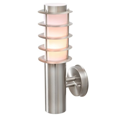 Светильник влагозащищенный Mw light 809020701 ПлутонНастенные<br>Описание модели 809020701: Светильник из коллекции «Плутон» - наглядное подтверждение тому, что даже уличное освещение может быть красивым и оригинальным. Его основание выполнено из стали, а плафон из матового акрила, что обеспечивает мягкий рассеянный свет. Также плафон декорирован стальными пластинами, за счет чего создается эффект ребристости. Рекомендуемая площадь освещения – 2 кв.м.<br><br>S освещ. до, м2: 3<br>Тип лампы: накаливания / энергосбережения / LED-светодиодная<br>Тип цоколя: Е27<br>Цвет арматуры: серебристый<br>Количество ламп: 1<br>Ширина, мм: 120<br>Длина, мм: 380<br>Высота, мм: 160<br>Поверхность арматуры: глянцевый<br>MAX мощность ламп, Вт: 40<br>Общая мощность, Вт: 40