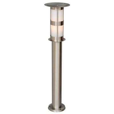 Светильник влагозащищенный Mw light 809040901 ПлутонОдиночные столбы<br>Описание модели 809040901: Уличное освещение станет ярче и интересней благодаря светильнику из коллекции «Плутон». Качество, надежность и функциональность – его главные достоинства. Основание выполнено из стали и удачно дополнено акриловым плафоном. Матовая поверхность обеспечивает мягкий свет, который создаст уютную обстановку. Рекомендуемая площадь освещения порядка 2 кв.м.<br><br>S освещ. до, м2: 2<br>Тип лампы: накаливания / энергосбережения / LED-светодиодная<br>Тип цоколя: Е27<br>Цвет арматуры: серебристый<br>Количество ламп: 1<br>Диаметр, мм мм: 150<br>Высота, мм: 650<br>Поверхность арматуры: глянцевый<br>MAX мощность ламп, Вт: 40<br>Общая мощность, Вт: 40