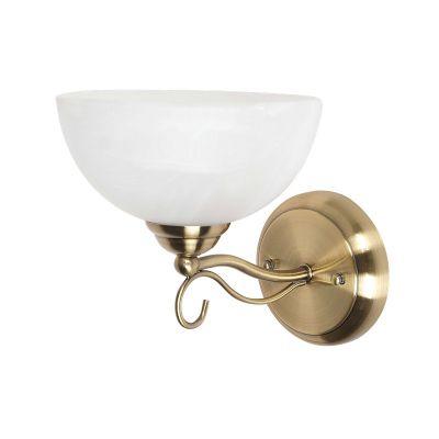 Светильник бра Colosseo 80916/1WКлассические<br>Настенный светильник Colosseo 80916/1W внесет в любой «классический» интерьер «изюминку», элегантность и утонченность! Плавные линии, благородное сочетание «золотого» и белого оттенков подарят Вашей комнате шик, «легкость» и уют. Рекомендуем приобретать бра в комплекте из нескольких экземпляров и люстрой той же серии, чтобы интерьер выглядел более гармоничным и совершенным.<br><br>S освещ. до, м2: 4<br>Крепление: настенное<br>Тип лампы: накаливания / энергосбережения / LED-светодиодная<br>Тип цоколя: E27<br>Цвет арматуры: серый<br>Количество ламп: 1<br>Ширина, мм: 200<br>Расстояние от стены, мм: 250<br>Высота, мм: 270<br>Оттенок (цвет): бронзовый<br>MAX мощность ламп, Вт: 60