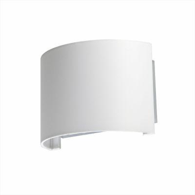 Светильник бра Colosseo 80918/1WХай-тек<br>Белый настенный светильник Colosseo 80918/1W всегда будет находиться в центре внимания – своей формой и моноцветом он напоминает чистый холст, на который хочется смотреть вновь и вновь. С помощью такого бра Вы можете сделать акцент на определенной части стены, подчеркнуть ее архитектурные особенности или, например, выделить картину, фотографию, стеклянную полку с сувенирами. Настенные светильники всегда лучше всего смотрятся в наборе из нескольких экземпляров, тогда они делают интерьер законченным и совершенным, поэтому рекомендуем Вам приобретать как минимум одну пару бра.<br><br>S освещ. до, м2: 4<br>Крепление: настенное<br>Тип лампы: накаливания / энергосбережения / LED-светодиодная<br>Тип цоколя: E27<br>Количество ламп: 1<br>Ширина, мм: 250<br>MAX мощность ламп, Вт: 60<br>Расстояние от стены, мм: 130<br>Высота, мм: 170<br>Оттенок (цвет): белый<br>Цвет арматуры: серебристый