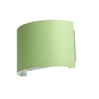 Светильник бра Colosseo 80919/1W Mario зеленыйМодерн<br>Оригинальный настенный светильник Colosseo 80919/1W Mario внесет в интерьер любого помещения «изюминку», оригинальность, и всегда будет дарить окружающим хорошее настроение – как известно, зеленый цвет обладает способностью успокаивать нервную систему и создавать атмосферу гармонии и радости. Универсальная конструкция в сочетании с нежным оттенком первой майской зелени делает светильник желанным приобретением для всех ценителей современных стилей. Наиболее оптимальным будет использование в комнате нескольких аналогичных бра и других осветительных приборов из этой же серии – тогда интерьер станет совершенным и законченным.<br><br>S освещ. до, м2: 4<br>Крепление: настенное<br>Тип лампы: накаливания / энергосбережения / LED-светодиодная<br>Тип цоколя: E27<br>Количество ламп: 1<br>Ширина, мм: 250<br>MAX мощность ламп, Вт: 60<br>Расстояние от стены, мм: 130<br>Высота, мм: 170<br>Оттенок (цвет): зеленый<br>Цвет арматуры: серебристый
