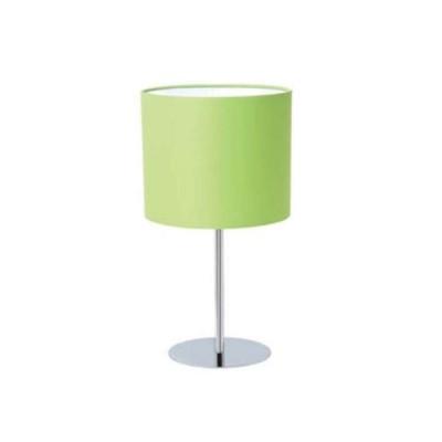 Настольная лампа с абажуром Colosseo 80919/1TСовременные<br>Яркая настольная лампа Colosseo 80919/1T оригинального оттенка первой майской зелени станет отличным дополнением к интерьеру Вашего дома или квартиры. Известно, что зеленый цвет успокаивает, снимает напряжение и расслабляет, что особенно актуально в наши дни, когда очень велики и физические и эмоциональные нагрузки. Лампа прекрасно впишется к любому интерьеру – от «классики» до «хай-тека». Ее подключение займет меньше минуты, а при желании и необходимости (например, если Вы решили изменить интерьер или сделать в комнате ремонт) светильник легко можно перенести в другое место.<br><br>S освещ. до, м2: 4<br>Тип лампы: накаливания / энергосбережения / LED-светодиодная<br>Тип цоколя: E27<br>Количество ламп: 1<br>MAX мощность ламп, Вт: 60<br>Диаметр, мм мм: 260<br>Высота, мм: 450<br>Оттенок (цвет): хром/зеленый<br>Цвет арматуры: серебристый