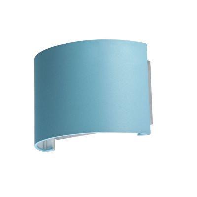 Светильник бра Colosseo 80921/1W Mario голубойСовременные<br>Настенный светильник Colosseo 80921/1W Mario придется по вкусу всем ценителям современных и оригинальных стилей оформления помещения. Его простая форма является универсальной, а значит, подходящей к любому дизайну комнаты. Яркий лазурно-голубой цвет плафона всегда будет привлекать к себе повышенное внимание и восхищенные взгляды Ваших гостей и станет выразительным акцентом в интерьере. Лучше всего светильник будет смотреться в комплекте из нескольких аналогичных бра и других осветительных приборов этой же серии – в таком случае общее пространство комнаты станет выглядеть эффектным и завершенным.<br><br>S освещ. до, м2: 4<br>Крепление: настенное<br>Тип лампы: накаливания / энергосбережения / LED-светодиодная<br>Тип цоколя: E27<br>Количество ламп: 1<br>Ширина, мм: 250<br>MAX мощность ламп, Вт: 60<br>Расстояние от стены, мм: 130<br>Высота, мм: 170<br>Оттенок (цвет): голубой<br>Цвет арматуры: серебристый