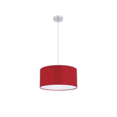 Красный светильник Colosseo 80922/3Aодиночные подвесные светильники<br>Оригинальная подвесная люстра Colosseo 80922/3A превосходно подойдет для освещения комнаты площадью до 12 кв.м. с высоким потолком. Круглый плафон повторяется в потолочном креплении, что придает конструкции симметрию и равновесие. Универсальная простая форма позволяет люстре одинаково хорошо выглядеть как в «классической» кухне, так и в «современной» гостиной. Яркий насыщенный красный цвет всегда будет привлекать повышенное внимание Ваших гостей и станет броским акцентом в любом помещении.<br><br>S освещ. до, м2: 12<br>Тип лампы: накаливания / энергосбережения / LED-светодиодная<br>Тип цоколя: E27<br>Цвет арматуры: серый<br>Количество ламп: 3<br>Диаметр, мм мм: 400<br>Высота, мм: 200 - 700<br>Оттенок (цвет): хром/красный<br>MAX мощность ламп, Вт: 60