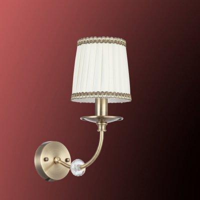 Светильник бра Colosseo 80946/1W FEDERICAКлассика<br><br><br>Тип товара: Светильник настенный бра<br>Скидка, %: 59<br>Тип лампы: накаливания / энергосбережения / LED-светодиодная<br>Тип цоколя: E14<br>Ширина, мм: 140<br>MAX мощность ламп, Вт: 40<br>Высота, мм: 320<br>Цвет арматуры: бронзовый