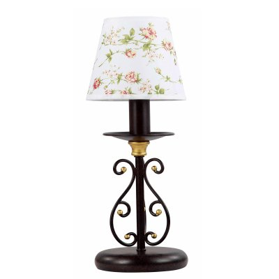 Настольный светильник Colosseo 80953/1T TeodoraКлассические<br>Настольная лампа – это не просто источник дополнительного освещения, но и оригинальный элемент декора. Его можно установить в спальне, гостиной, кабинете и других комнатах. Интернет-магазин «Светодом» предлагает настольные лампы разных стилей по доступным ценам. Благодаря большому ассортименту Вы обязательно найдете в нашем каталоге именно ту модель, которую искали.   Настольная лампа Colosseo 80953/1T – прекрасный вариант для завершения интерьера. Ее можно включить одновременно с люстрой для более яркого освещения или без нее для создания уютной атмосферы, настраивающей на отдых.   Купить настольную лампу Colosseo 80953/1T Вы можете с помощью виртуальной «Корзины» или по контактным номерам, указанным на сайте.<br><br>Тип лампы: накал-я - энергосбер-я<br>Тип цоколя: E14<br>MAX мощность ламп, Вт: 40<br>Диаметр, мм мм: 140<br>Высота, мм: 370<br>Цвет арматуры: коричневый