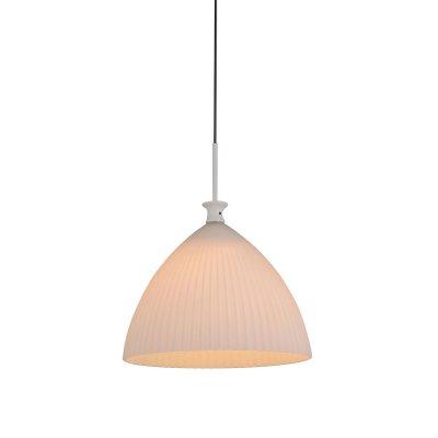 Lightstar AGOLA 810030 Светильник подвеснойОдиночные<br><br><br>Тип товара: Светильник подвесной<br>Скидка, %: 20<br>Тип цоколя: E14<br>Количество ламп: 1<br>MAX мощность ламп, Вт: 40<br>Размеры: D275 H400-1450<br>Оттенок (цвет): матовый белый<br>Цвет арматуры: серебристый хром