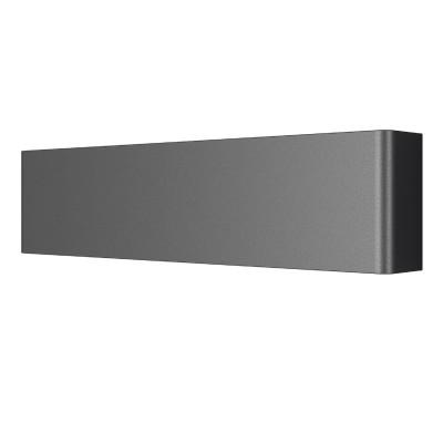Lightstar FIUME 810617 Светильник настенный браСовременные<br><br><br>Тип лампы: LED<br>Тип цоколя: LED<br>Цвет арматуры: черный<br>Ширина, мм: 330<br>Выступ, мм: 80<br>Расстояние от стены, мм: 40