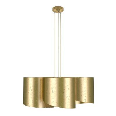 Lightstar PITTORE 811152 Светильник подвеснойсовременные подвесные люстры модерн<br>Подвесная люстра Pittore уникальна своей формой. Сбоку она напоминает облако, а снизу похожа на ровные лепестки ромашки. Эффект состаренного золота был достигнут благодаря специальной обработке свеженанесенной краски непосредственно на светильник. Несмотря на видимые трещинки на покрытии, краска останется в первозданном виде, как минимум, 10 лет. Конструкция предусматривает использование ламп различных типов от накаливания до светодиодных. Этим можно регулировать яркость освещения и его цветовую температуру. <br>Стильная люстра Lightstar 811152 станет украшением любого дома. Эта модель от известного производителя не оставит равнодушным ценителей красивых и оригинальных предметов интерьера. Люстра Lightstar 811152 обеспечит равномерное распределение света по всей комнате. При выборе обратите внимание на характеристики, позволяющие приобрести наиболее подходящую модель. <br>Купить понравившуюся люстру по доступной цене Вы можете в интернет-магазине «Светодом».<br><br>Установка на натяжной потолок: Да<br>S освещ. до, м2: 10<br>Крепление: Планка<br>Тип лампы: Накаливания / энергосбережения / светодиодная<br>Тип цоколя: E27<br>Цвет арматуры: Золотой<br>Количество ламп: 5<br>Диаметр, мм мм: 640<br>Высота, мм: 400 - 1400<br>Оттенок (цвет): золотой<br>MAX мощность ламп, Вт: 40