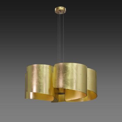 Lightstar PITTORE 811152 Светильник подвеснойПодвесные<br><br><br>Установка на натяжной потолок: Да<br>S освещ. до, м2: 10<br>Крепление: Крюк<br>Тип товара: Светильник подвесной<br>Тип лампы: Накаливания / энергосбережения / светодиодная<br>Тип цоколя: E27<br>Количество ламп: 5<br>MAX мощность ламп, Вт: 40<br>Диаметр, мм мм: 640<br>Высота, мм: 400 - 1400<br>Оттенок (цвет): золото<br>Цвет арматуры: Золотой