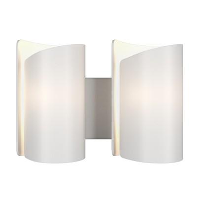 Lightstar PITTORE 811620 Светильник настенный браСовременные<br><br><br>Тип лампы: Накаливания / энергосбережения / светодиодная<br>Тип цоколя: E27<br>Количество ламп: 2<br>Ширина, мм: 350<br>Расстояние от стены, мм: 145<br>Высота, мм: 250<br>Оттенок (цвет): белый<br>MAX мощность ламп, Вт: 40
