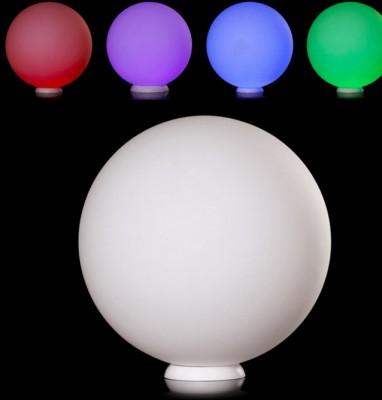 Светильник уличный переносной Mw light 812040612 АрлонВ виде шара<br>Описание модели 812040612: Основание изготовлено из белого акрила.<br>Украшение пространства для эмоций! Свет может заряжать позитивностью и создавать уютную обстановку. Главный секрет - подобрать оттенок для вашего настроения. Светильник из коллекции Арлон может стать отличным домашним светотерапевтом, украсив своим пребыванием всю обстановку в доме. С помощью многорежимного пульта дистанционного управления можно задавать ритмичность перехода цветов, их яркость, или выбрать наиболее понравившийся оттенок свечения диодов и акцентировать внимание только на 1 цвете освещения пространства. Впервые Вы можете использовать светильник как для интерьерного, так и для ладшафтного освещения! Высокая IP защита и универсальный материал позволяют помещать светящийся шар даже в бассейн, тем самым создав определённый шарм украшения всей ландшафтной композиции.<br><br>S освещ. до, м2: 1<br>Тип лампы: LED<br>Тип цоколя: LED<br>Количество ламп: 12<br>Диаметр, мм мм: 350<br>Высота, мм: 350<br>Цвет арматуры: белый