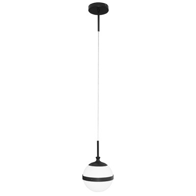 Подвесной светильник Lightstar 813117 Globoодиночные подвесные светильники<br>Высота min-max (см): ; Ширина (см): ; Вес (кг): ; Кол-во ламп: 1хE14; Мощность max (W): 40; Цвет основания/цвет стекла или абажура: black/white;