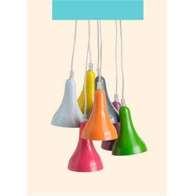 Люстра подвесная Brilliant 81377/72 ENRICAсовременные подвесные люстры модерн<br>Зачастую мы ищем идеальное освещение для своего дома и уделяем этому достаточно много времени. Так, например, если нам нужен светильник с количеством ламп - 7 и цвет плафонов должен быть - разноцветный, а материал плафонов только металл! То нам, как вариант, подойдет модель подвесного светильника Brilliant 81377/72. Дополнительная консультация по бесплатному телефону 8 (800) 555-40-14.<br><br>S освещ. до, м2: 11<br>Тип лампы: накал-я - энергосбер-я<br>Тип цоколя: E14<br>Цвет арматуры: белый<br>Количество ламп: 7<br>Диаметр, мм мм: 330<br>Высота, мм: 1400<br>MAX мощность ламп, Вт: 25