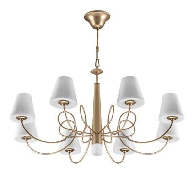 Люстра Lightstar 814293 VORTICOПодвесные<br><br><br>S освещ. до, м2: 18<br>Тип лампы: галогенная/LED<br>Тип цоколя: G9<br>Количество ламп: 9<br>Диаметр, мм мм: 790<br>Высота, мм: 690 - 1480<br>MAX мощность ламп, Вт: 35