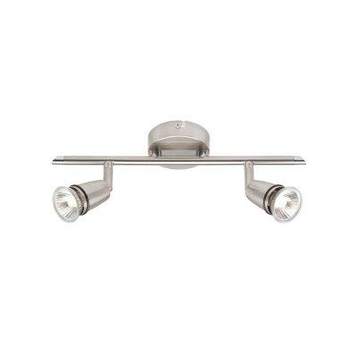 Светильник Brilliant G81613/13 PattyДвойные<br>Зачастую мы ищем идеальное освещение для своего дома и уделяем этому достаточно много времени. Так, например, если нам нужен светильник с количеством ламп - 2! То нам, как вариант, подойдет модель - система спотов Brilliant G81613/13.<br><br>S освещ. до, м2: 5<br>Тип лампы: галогенная / LED-светодиодная<br>Тип цоколя: GU10<br>Количество ламп: 2<br>Ширина, мм: 340<br>MAX мощность ламп, Вт: 40<br>Выступ, мм: 110<br>Длина, мм: 340<br>Высота, мм: 110<br>Цвет арматуры: серый