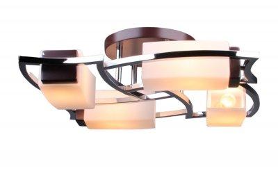 Люстра Colosseo 81614/4CАрхив<br>Компания «Светодом» предлагает широкий ассортимент люстр от известных производителей. Представленные в нашем каталоге товары выполнены из современных материалов и обладают отличным качеством. Благодаря широкому ассортименту Вы сможете найти у нас люстру под любой интерьер. Мы предлагаем как классические варианты, так и современные модели, отличающиеся лаконичностью и простотой форм.  Стильная люстра Colosseo 81614/4C станет украшением любого дома. Эта модель от известного производителя не оставит равнодушным ценителей красивых и оригинальных предметов интерьера. Люстра Colosseo 81614/4C обеспечит равномерное распределение света по всей комнате. При выборе обратите внимание на характеристики, позволяющие приобрести наиболее подходящую модель. Купить понравившуюся люстру по доступной цене Вы можете в интернет-магазине «Светодом». Мы предлагаем доставку не только по Москве и Екатеринбурге, но и по всей России.<br><br>Установка на натяжной потолок: Ограничено<br>S освещ. до, м2: 16<br>Крепление: Планка<br>Тип лампы: накаливания / энергосбережения / LED-светодиодная<br>Тип цоколя: E14<br>Цвет арматуры: черный<br>Количество ламп: 4<br>Диаметр, мм мм: 620<br>Высота, мм: 160<br>MAX мощность ламп, Вт: 60