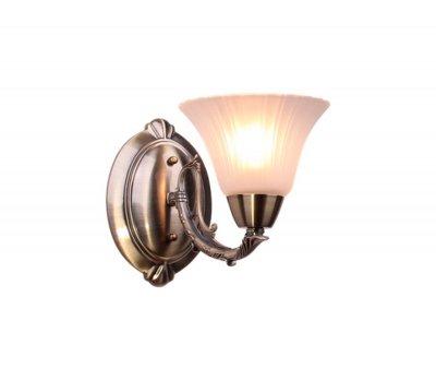 Светильник Colosseo 81618/1WКлассические<br><br><br>Тип лампы: накаливания / энергосбережения / LED-светодиодная<br>Тип цоколя: E14<br>Ширина, мм: 135<br>MAX мощность ламп, Вт: 60<br>Расстояние от стены, мм: 250<br>Высота, мм: 190<br>Цвет арматуры: бронзовый