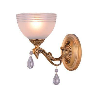 Светильник Colosseo 81625/1W NESTOREклассические бра<br><br><br>Тип лампы: накаливания / энергосбережения / LED-светодиодная<br>Количество ламп: 1<br>Диаметр, мм мм: 150<br>Высота, мм: 300<br>MAX мощность ламп, Вт: 60