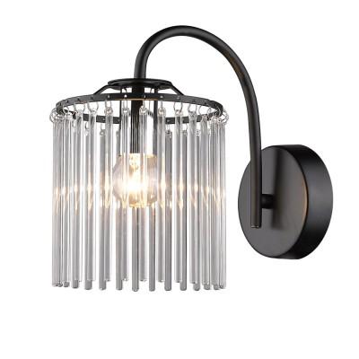 Светильник Colosseo 81631/1W NEREAбра рустика<br><br><br>Тип лампы: накаливания / энергосбережения / LED-светодиодная<br>Тип цоколя: E14<br>Цвет арматуры: коричневый<br>Количество ламп: 1<br>Ширина, мм: 130<br>Диаметр, мм мм: 130<br>Расстояние от стены, мм: 210<br>Высота, мм: 220<br>MAX мощность ламп, Вт: 60