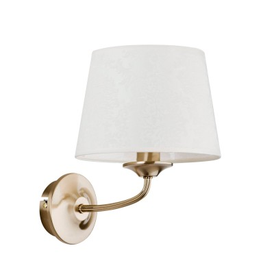Светильник бра Colosseo 81806/1W LADISLAOКлассика<br><br><br>Тип цоколя: E14<br>Количество ламп: 1<br>MAX мощность ламп, Вт: 60<br>Диаметр, мм мм: 240<br>Высота, мм: 180<br>Цвет арматуры: бронзовый