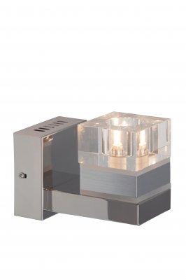 Светильник Brilliant G81810/15 TalonХай-тек<br><br><br>Тип товара: Светильник настенно-потолочный<br>Тип лампы: галогенная / LED-светодиодная<br>Тип цоколя: G9<br>Ширина, мм: 160<br>Расстояние от стены, мм: 102<br>Высота, мм: 172