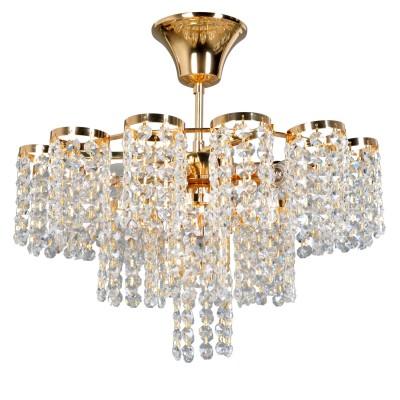 Люстра Colosseo 81904/4C SABBATINAПотолочные<br><br><br>S освещ. до, м2: 12<br>Тип товара: Люстра потолочная<br>Тип цоколя: E14<br>Количество ламп: 4<br>MAX мощность ламп, Вт: 60<br>Диаметр, мм мм: 400<br>Высота, мм: 390<br>Цвет арматуры: золотой
