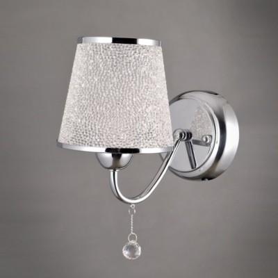 Светильник Colosseo 81905/1W OptimaСовременные<br><br><br>Тип лампы: Накаливания / энергосбережения / светодиодная<br>Тип цоколя: E14<br>Количество ламп: 1<br>Ширина, мм: 130<br>MAX мощность ламп, Вт: 40<br>Длина, мм: 200<br>Высота, мм: 270<br>Цвет арматуры: хром серебристый