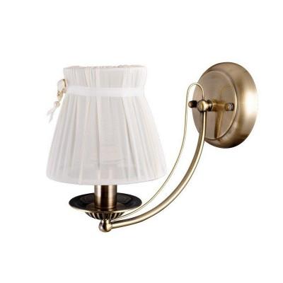 Светильник настенный бра Colosseo 81908/1W FABIOLAКлассические<br><br><br>Тип лампы: Накаливания / энергосбережения / светодиодная<br>Тип цоколя: E14<br>Количество ламп: 1<br>Ширина, мм: 150<br>MAX мощность ламп, Вт: 40<br>Расстояние от стены, мм: 270<br>Высота, мм: 210<br>Цвет арматуры: бронзовый