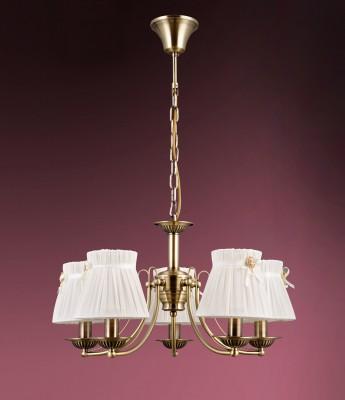 Люстра Colosseo 81908/5 FABIOLAПодвесные<br><br><br>Тип лампы: Накаливания / энергосбережения / светодиодная<br>Тип цоколя: E14<br>Цвет арматуры: бронзовый<br>Количество ламп: 5<br>Диаметр, мм мм: 600<br>Высота полная, мм: 600<br>Высота, мм: 300