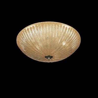 Lightstar Zucche 820833 Светильник настенно-потолочныйКруглые<br><br><br>S освещ. до, м2: 12<br>Тип товара: Светильник настенно-потолочный<br>Тип лампы: накаливания / энергосбережения / LED-светодиодная<br>Тип цоколя: E27<br>Количество ламп: 3<br>MAX мощность ламп, Вт: 60<br>Диаметр, мм мм: 400<br>Размеры: D400 H130<br>Высота, мм: 130<br>Оттенок (цвет): янтарный<br>Цвет арматуры: золотой