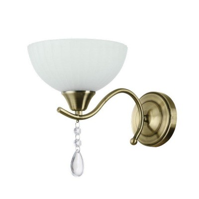 Светильник настенный бра Colosseo 82120/1W RODERICAклассические бра<br><br><br>Тип лампы: Накаливания / энергосбережения / светодиодная<br>Тип цоколя: E27<br>Цвет арматуры: бронзовый<br>Количество ламп: 1<br>Ширина, мм: 170<br>Расстояние от стены, мм: 285<br>Высота, мм: 215