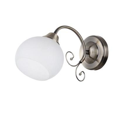 Светильник Colosseo 82125/1W Optimaсовременные бра модерн<br><br><br>Тип лампы: Накаливания / энергосбережения / светодиодная<br>Тип цоколя: E27<br>Цвет арматуры: бронзовый<br>Количество ламп: 1<br>Ширина, мм: 260<br>Высота полная, мм: 170<br>Длина, мм: 260<br>Высота, мм: 170<br>MAX мощность ламп, Вт: 60