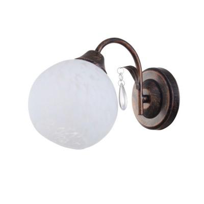 Светильник Colosseo 82129/1W OptimaСовременные<br><br><br>Тип лампы: Накаливания / энергосбережения / светодиодная<br>Тип цоколя: E27<br>Количество ламп: 1<br>Ширина, мм: 140<br>MAX мощность ламп, Вт: 60<br>Длина, мм: 250<br>Высота, мм: 200<br>Цвет арматуры: коричневый