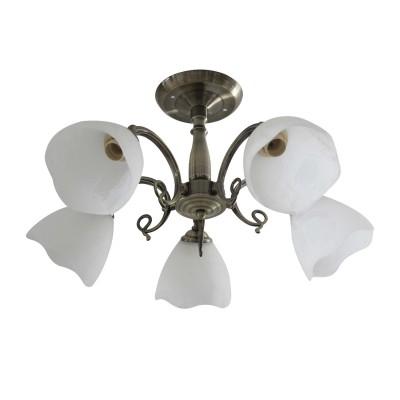 Люстра Colosseo 82186/5Cлюстры потолочные классические<br>Светильник Colosseo 82186/5C сделает Ваш интерьер современным, стильным и запоминающимся! Наиболее функционально и эстетически привлекательно модель будет смотреться в гостиной, зале, холле или другой комнате. А в комплекте с настенными бра и торшером из этой же коллекции, сделает интерьер по-дизайнерски профессиональным и законченным.