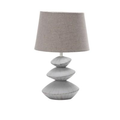Omnilux OML-82204-01 СветильникНастольные лампы с абажуром<br>Настольная лампа – это не просто источник дополнительного освещения, но и оригинальный элемент декора. Его можно установить в спальне, гостиной, кабинете и других комнатах. Интернет-магазин «Светодом» предлагает настольные лампы разных стилей по доступным ценам. Благодаря большому ассортименту Вы обязательно найдете в нашем каталоге именно ту модель, которую искали.   Настольная лампа Omnilux OML-82204-01 – прекрасный вариант для завершения интерьера. Ее можно включить одновременно с люстрой для более яркого освещения или без нее для создания уютной атмосферы, настраивающей на отдых.   Купить настольную лампу Omnilux OML-82204-01 Вы можете с помощью виртуальной «Корзины» или по контактным номерам, указанным на сайте.<br><br>Тип цоколя: E27<br>Количество ламп: 1<br>Диаметр, мм мм: 240<br>Высота, мм: 360<br>MAX мощность ламп, Вт: 60
