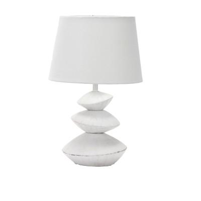 Omnilux OML-82214-01 Светильникнастольные лампы с абажуром<br>Настольная лампа – это не просто источник дополнительного освещения, но и оригинальный элемент декора. Его можно установить в спальне, гостиной, кабинете и других комнатах. Интернет-магазин «Светодом» предлагает настольные лампы разных стилей по доступным ценам. Благодаря большому ассортименту Вы обязательно найдете в нашем каталоге именно ту модель, которую искали.   Настольная лампа Omnilux OML-82214-01 – прекрасный вариант для завершения интерьера. Ее можно включить одновременно с люстрой для более яркого освещения или без нее для создания уютной атмосферы, настраивающей на отдых.   Купить настольную лампу Omnilux OML-82214-01 Вы можете с помощью виртуальной «Корзины» или по контактным номерам, указанным на сайте.<br><br>Тип цоколя: E27<br>Цвет арматуры: белый<br>Количество ламп: 1<br>Диаметр, мм мм: 240<br>Высота, мм: 360<br>MAX мощность ламп, Вт: 60