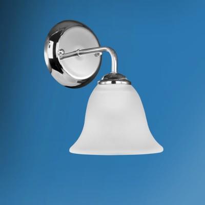 Светильник настенный бра Colosseo 82406/1W OSCARМодерн<br><br><br>Тип лампы: Накаливани / нергосбережени / светодиодна<br>Тип цокол: E27<br>Количество ламп: 1<br>Ширина, мм: 150<br>MAX мощность ламп, Вт: 60<br>Расстоние от стены, мм: 190<br>Высота, мм: 230<br>Цвет арматуры: серебристиый хром